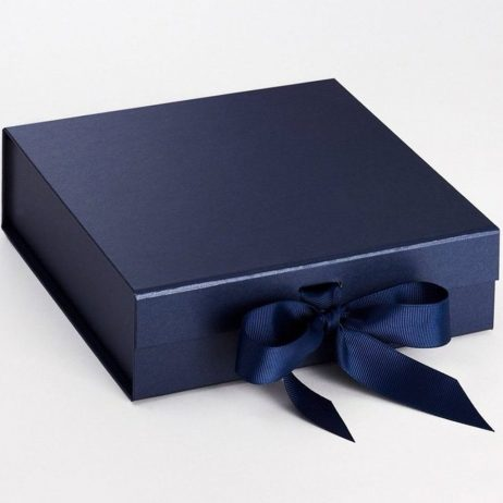 Personalised Bride to Be Luxury Gift Box with Ribbon - Medium