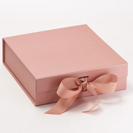 Personalised Bridesmaid Luxury Gift Box with Ribbon - Medium