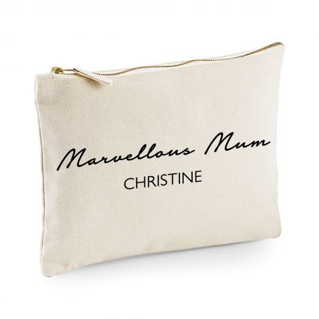 Personalised Marvellous Mum Makeup Bag