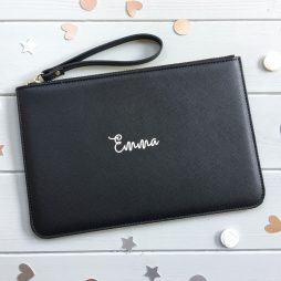 Personalised Pouch Clutch Bag - Any Name