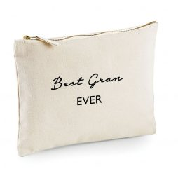 Best Gran Ever Makeup Bag Cosmetic Bag