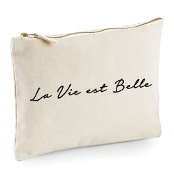 Makeup Bag La Vie est Belle, Cosmetic Bag