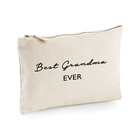 Best Grandma Ever Makeup Bag Cosmetic Bag