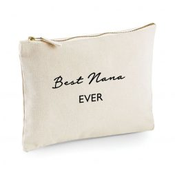 Best Nana Ever Makeup Bag Cosmetic Bag