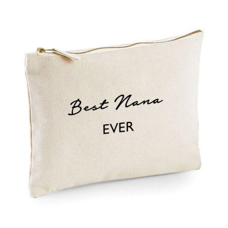 Best Nana Ever Makeup Bag Cosmetic Bag