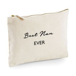 Best Nan Ever Makeup Bag Cosmetic Bag