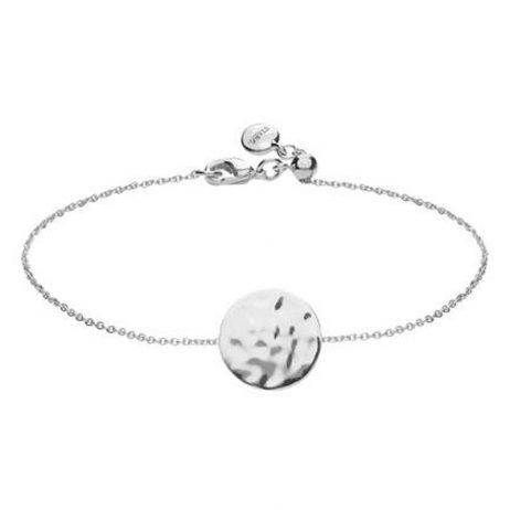 Stara London Silver Plated Disc Bracelet