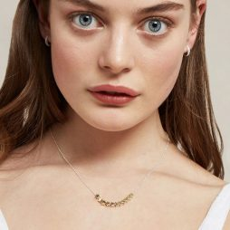 Estella Bartlett Stars So Bright Silver and Gold Plated Necklace EB3454C