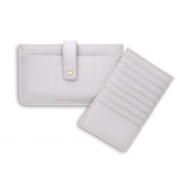 Estella Bartlett Escape The Ordinary Travel Document Wallet - Light Grey ebp2385