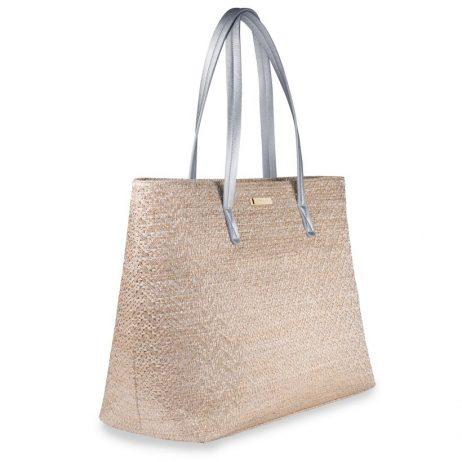 Katie Loxton Callie Metallic Beach Bag KLB550