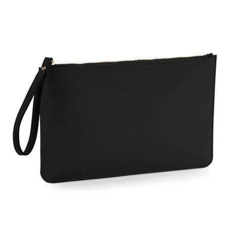 Essential Pouch with Carry Handle - Black Clutch Bag