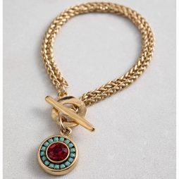 Danon Jewellery Louis the 14th Gold Bracelet Multicoloured B3926GF