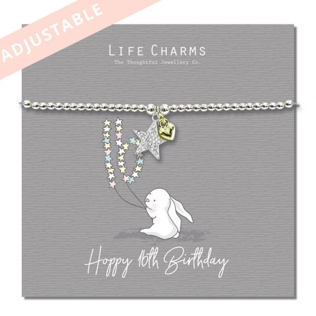 Life Charm No Bunny Compares To You Silver Bracelet - Rosey Rabbits