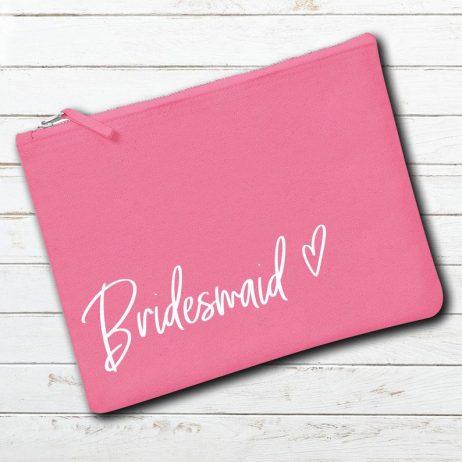 Personalised Bridesmaid Makeup Bag