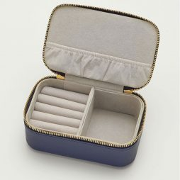 Estella Bartlett Navy Blue Mini Jewellery Box Live as you Dream ebp2382
