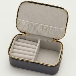 Estella Bartlett Black Mini Jewellery Box Make A Wish - Personalised ebp2474
