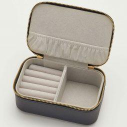Estella Bartlett Black Mini Jewellery Box Make A Wish - Personalised ebp2474