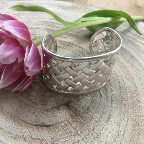 Hultquist Jewellery Chunky Silver Open Cuff Bracelet