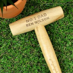 Personalised Any Message Wooden Dibber P0111C60