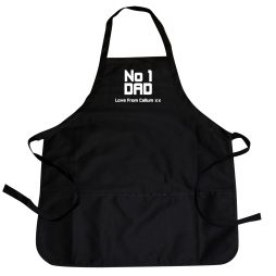 Personalised No1 Dad Apron P0210A81