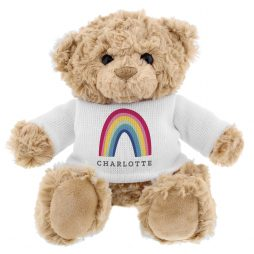 Personalised Rainbow Teddy Bear P0210C98