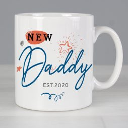 Personalised New Dad Mug P0805J72