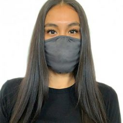 Lizzielane CV19 Eco Performance Face Mask - Reusable - Dark Heather