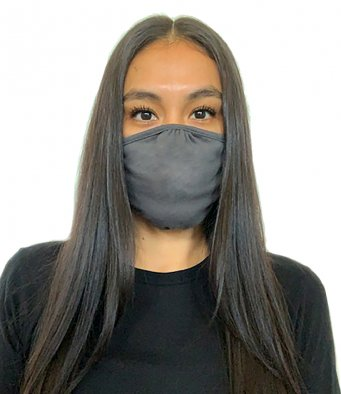 Lizzielane CV19 Eco Performance Face Mask - Reusable - Dark Heather