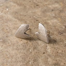 Danon Jewellery Silver True Love Stud Earrings