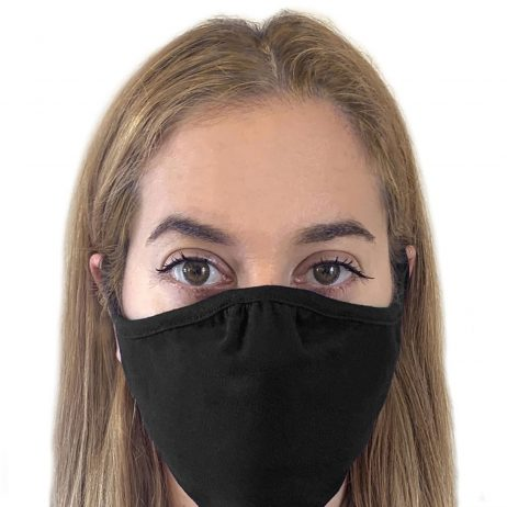 Lizzielane CV19 Eco Performance Face Mask - Reusable - Black