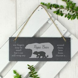 Personalised Slate Door Sign for Home