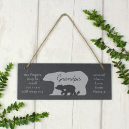 Personalised Slate Door Sign for Home P010907