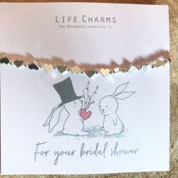 Life Charms For Your Bridal Shower Silver Bracelet - Rosey Rabbits