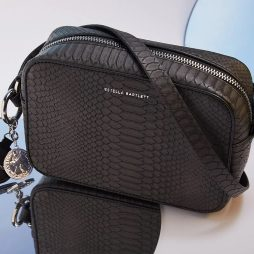 Estella Bartlett The Webber Black Snake-effect | Cross Body Bag