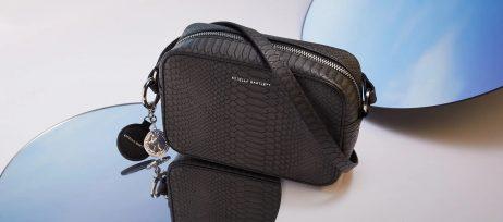 Estella Bartlett The Webber Black Snake-effect | Cross Body Bag
