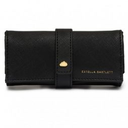 Estella Bartlett Black Mini Jewellery Roll Treasure Me