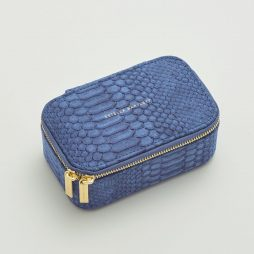Estella Bartlett Navy Snake Print Mini Jewellery